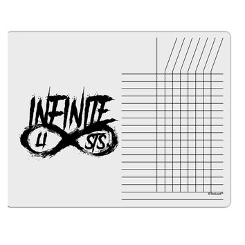 Infinite Lists Chore List Grid Dry Erase Board by TooLoud