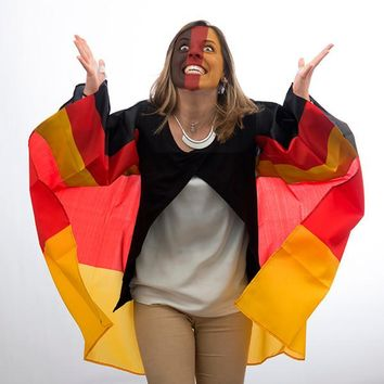 German Flag Cape