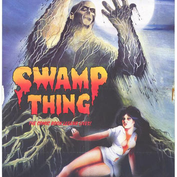 Swamp Thing 11x17 Movie Poster (1982)