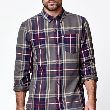 Modern Amusement Rainer Flannel Long Sleeve Shirt - Mens Shirt
