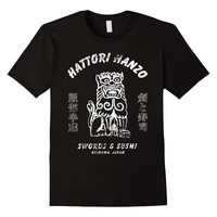 Hattori Hanzo T-Shirt - Swords & Sushi Shirt