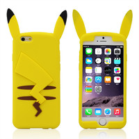 Pikachu Pokemon 3D iPhone Case