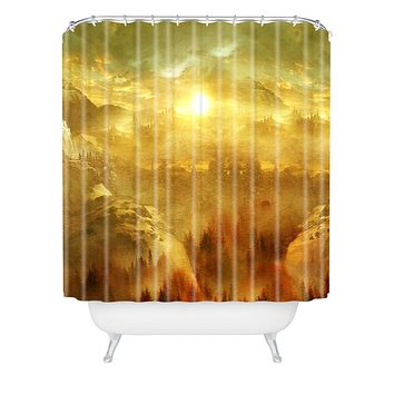 Viviana Gonzalez Wish You Were Here Chapter I Shower Curtain