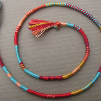 Sunset Blvd ateba - beach boho summer surf hippie style hairwrap extension