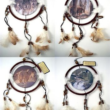 Wildlife Indian Dreamcatcher Mandela Assorted
