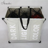 Dirty clothes basket Storage Organization laundry basket  bathroom basket  home office storage basket free shipping
