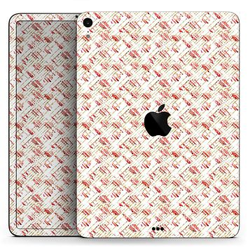 """Karamfila Watercolo Poppies V19 - Full Body Skin Decal for the Apple iPad Pro 12.9"""", 11"""", 10.5"""", 9.7"""", Air or Mini (All Models Available)"""