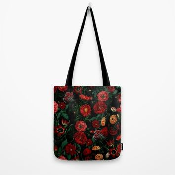Botanical Garden Tote Bag by RIZA PEKER