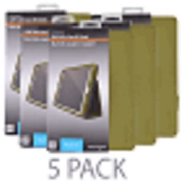 (5-Pack) Kensington K97015WW Comercio Soft Folio Case & Stand for iPad Air (Olive)