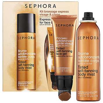 SEPHORA COLLECTION Express Self-Tanning Kit for Face & Body