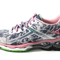 Mizuno Women's Wave Creation 15 Silver/Pink Running Shoes