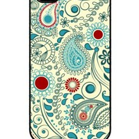 SkunkWraps Apple iPhone 4 4S Slim Hard Case Cover - Vintage Paisley