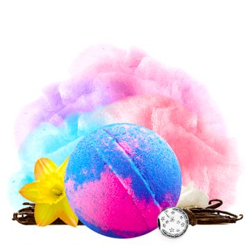 Cotton Candy | Single Charm Bath Bomb®