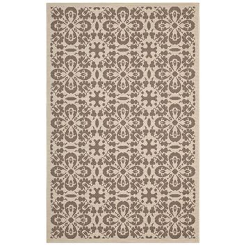 Ariana Vintage Floral Trellis 5x8 Indoor and Outdoor Area Rug - R-1142A-58