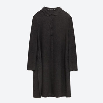 TUNIC WITH SLITS - View all-DRESSES-Woman-COLLECTION SS16 | ZARA Slovenia