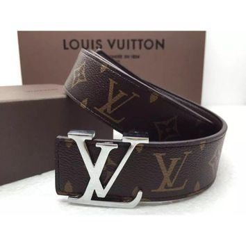LV Belt Leather Tali Pinggang