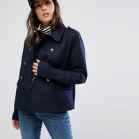 Only Aya Spring Double Breasted Coat at asos.com