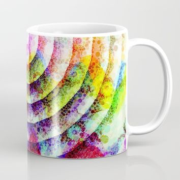 Colorful Circle Mug by Jeanette Rietz