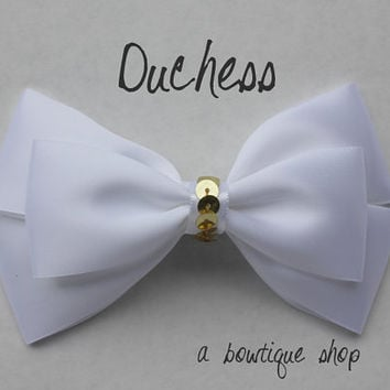 duchess hair bow