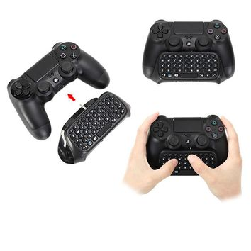 PS4 Accessories Joystick PS4 Wireless Chatpad Play Station 4 Message Keyboard for SONY PlayStation 4/Slim/Pro Gaming Controller