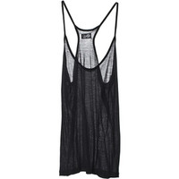 Tops Mercedes Tank Black