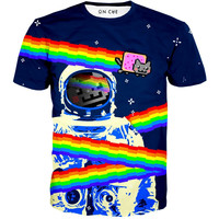 Nyan Cat Astronaut T-Shirt