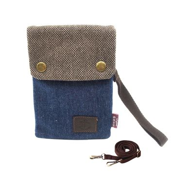 Cute Small Mini Double Pockets Phone Crossbody Bag Shoulder Bag Messenger Bag Cell Phone Pouch Travel Purse Wallet