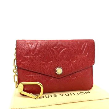 Louis Vuitton Monogram Empreinte Pochette Cles Wallet Coin Purse /e-726