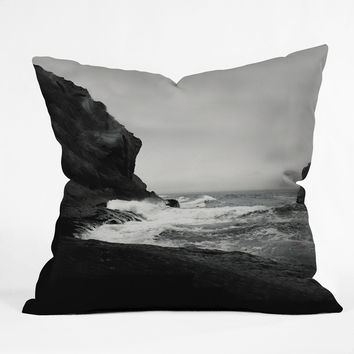 Leah Flores Ocean 1 Throw Pillow