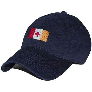 Kappa Alpha Order Needlepoint Hat in Navy by Smathers & Branson