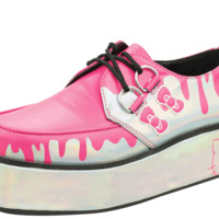 A8886 Pretty Pink Paint Bucket Hello Kitty® Creepers