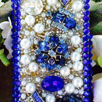 Electric Sapphire iPhone 5/5S Case