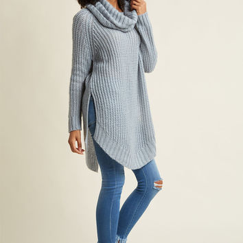 Homecoming 'Round the Mountain Sweater in Creme