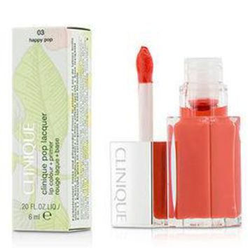 Pop Lacquer Lip Colour + Primer  - # 03 Happy Pop 6ml/0.2oz