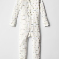 Gap Baby Organic Alphabet Sleep One Piece