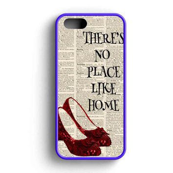 No Place Like Home The Wizard Of Oz  iPhone 5 Case iPhone 5s Case iPhone 5c Case