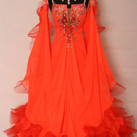 BALLROOM .STANDARD. SMOOTH DANCE COMPETITION DRESS SIZE S M L WB1278