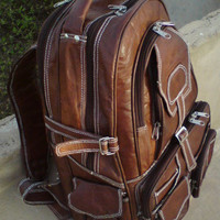 Pure Leaather Backpack Fully Padded
