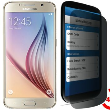 Samsung Galaxy S6 Privacy Tempered Glass