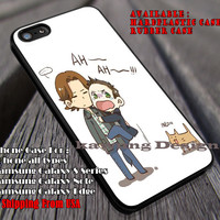 Sam and Dean Funny Story | Supernatural Cat | Scary iPhone 6s 6 6s+ 6plus Cases Samsung Galaxy s5 s6 Edge+ NOTE 5 4 3 #movie #supernatural ii