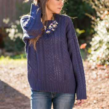 Now We're Talking Sweater, Navy