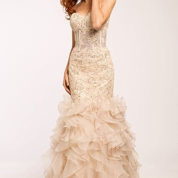 JP88590 - Jovani Platinum Prom collection