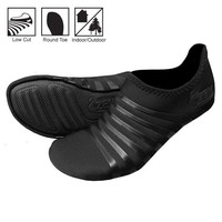 Original Playa Low Round Toe Minimalist Shoes in Black/Black