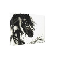 Majestic Mustang by BiHrLe Horse Canvas Art