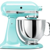 KitchenAid KSM150PSIC Artisan Series 5-Quart Mixer, Ice
