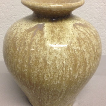 American Arts & Crafts Crystalline Glazed Art Pottery Vase