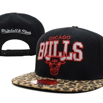 PEAPON Chicago Bulls NBA 9FIFTY Hat M&N Black-Camouflage