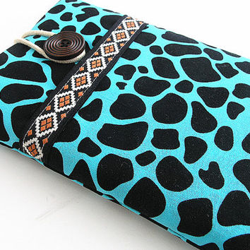 Giraffe Ipad mini  case, Ipad mini cover, Ipad mini sleeve with pocket.