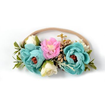 Forever Floral Headband - Style 1