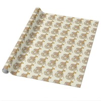 Baby Animals Baby Shower Wrapping Paper